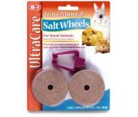 8in1 солевые колесики для грызунов Trace Mineral Salt Wheels с минералами 2х42,5 г