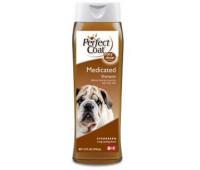 8in1 шампунь для собак PC Medicated дегтярный от перхоти и зуда с ароматом хвои 473 мл