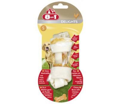 8in1 DELIGHTS S косточка для мелких и средних собак 11 см