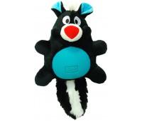"R2P игрушка для собак Multi-tex ""Скунс"" плюш/резина с пищалкой 30 см"