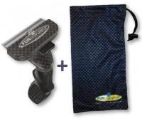 FURminator для собак мелких короткошерстных пород Short Hair Small Dog Carbon Design 4 см