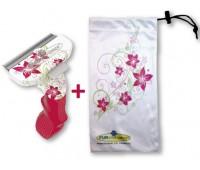 FURminator для кошек маленьких короткошерстных пород Short Hair Small Cat Flower Design 4 см