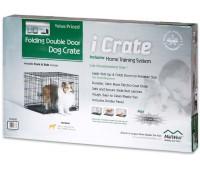 Midwest iCrate клетка 76х48х53h см черная 2 двери