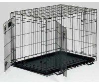 Midwest Life Stage клетка 61х46х53h см черная 2 двери