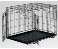 Midwest Life Stage клетка 76х53х61h см черная 2 двери
