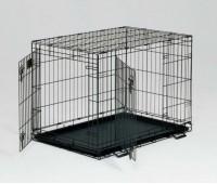 Midwest Life Stage клетка 91х61х69h см черная 2 двери