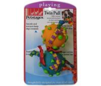 """Petstages игрушка для собак """"Гантеля винил+текстиль"""""""