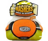 """R2P игрушка для собак Masher """"Мячик с 3-мя орбитами"""" 10 см вспененная резина с покрытием тенисного мяча"""