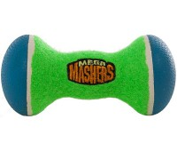 """R2P игрушка для собак Mega Masher """"Гантеля"""" 15 см вспененная резина с покрытием теннисного мяча"""
