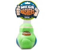 """R2P игрушка для собак Mega Masher """"Кегля"""" 15 см вспененная резина с покрытием теннисного мяча"""