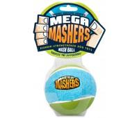 """R2P игрушка для собак Mega Masher """"Мячик"""" 9 см вспененная резина с покрытием теннисного мяча"""