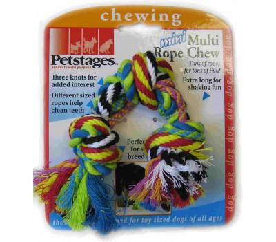 """Petstages игрушка для собак Mini """"Канат с узлами"""" маленький"""