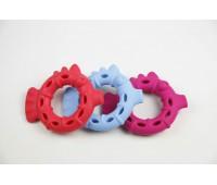 SuperDesign игрушка для собак Рыбка-колечко резиновая 13 см