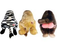 R2P игрушка для собак Silly bums плюшевая в ассортименте (зебра, лев, обезьяна) 20 см