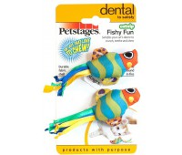 """Petstages игрушка для кошек """"Рыбки с кошачьей мятой"""" 2 шт."""