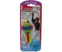 """Petstages игрушка для кошек """"Рыбка"""" на присоске"""