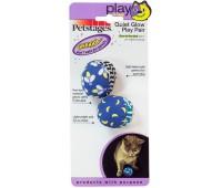 "Petstages игрушка для кошек ""Мяч"" текстиль 2 шт."