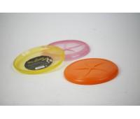 SuperDesign игрушка для собак Летающая тарелка резиновая 21 см
