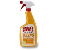 8in1 уничтожитель пятен и запахов от кошек NM JFC Orange-Oxy Formula спрей 710 мл
