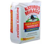 8in1 пеленки NM Quick Results Training Pads приучающие Быстрый результат 56х58 см 30 шт.