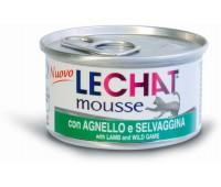 Lechat консервы для кошек ягненком 85 г