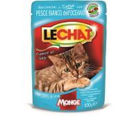 Lechat Pouch паучи для кошек с океанической рыбой 100 г
