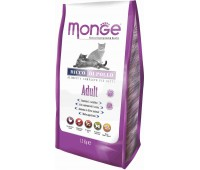 Monge Cat корм для взрослых кошек 1,5 кг