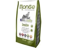 Monge Cat Sensitive корм для кошек с чувствительным пищеварением 400 г