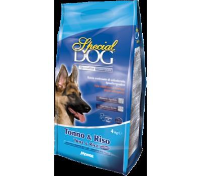 Special Dog корм для собак с особыми потребностями (с чувствительной кожей и пищеварением) тунец/рис 4 кг