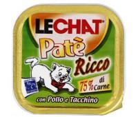 Lechat консервы для кошек курица/индейка 100 г
