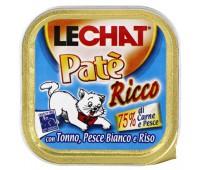 Lechat консервы для кошек тунец/океаническая рыба/рис 100 г
