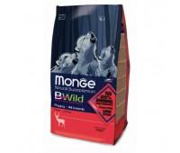 Monge Bwild Dog Deer корм для щенков всех пород с олениной 2 кг