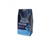 Monge Bwild Cat Cat Anchovies корм для взрослых кошек с анчоусами 1,5 кг