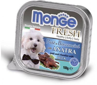 Monge Dog Fresh консервы для собак утка 100 г