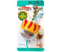 """Petstages игрушка для кошек """"Погремушка"""" картон/пластик"""