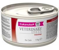 Ветеринарные диетические консервы Eukanuba Intestinal для кошек при кишечных расстройствах 170 г