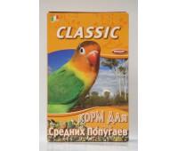 FIORY корм для средних попугаев Classic 650 г