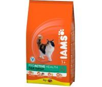 Iams® ProActive Health™ Adult Hairball для кошек с курицей 10 кг