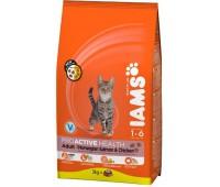 Iams® ProActive Health™ Adult для кошек с лососем 3 кг