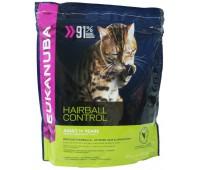 Eukanuba Cat Adult для кошек склонных к образованию волосяных комков в желудке 400 г