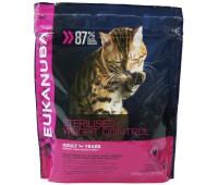 Eukanuba Cat Adult для кошек склонных к набору веса а также для кастрированных/ стерилизованных кошек 400 г