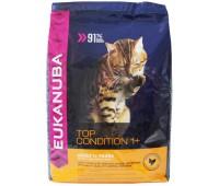 Eukanuba Cat Adult для кошек с курицей и печенью 10 кг