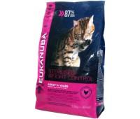 Eukanuba Cat Adult для кошек склонных к набору веса а также для кастрированных/ стерилизованных кошек 1,5 кг