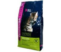 Eukanuba Cat Adult для кошек склонных к образованию волосяных комков в желудке 4 кг