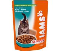 Iams® Adult пауч для кошек с тунцом в желе 100 г