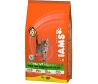 Iams® ProActive Health™ Adult для кошек с ягненком 1,5 кг