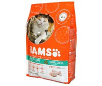Iams® ProActive Health™ Adult Hairball для кошек с курицей, 2,55 кг