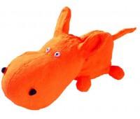 Hunter Smart игрушка для собак Squeezy Dog S 18 см латекс оранжевая