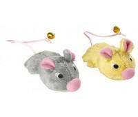 Hunter Smart игрушка для кошек Мышки с колокольчиком с кошачьей мятой текстиль