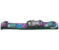 Hunter Smart ошейник для собак Ecco Fun Pease XS (22-34 см) нейлоновый с рисунком пацифика
